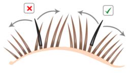 как правильно наращивать ресницы
